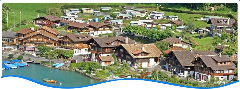 Willkommen auf dem Camping Du Lac in Iseltwald am Brienzersee nahe Interlaken!